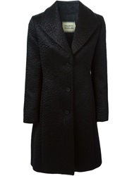 Fausto Puglisi Single Breasted Coat Black