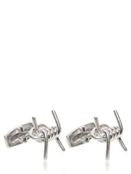 Alexander Mcqueen Barbed Wire Metal Cufflinks