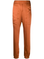 Fabiana Filippi Elasticated Waist Trousers Orange