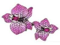 Wendy Yue Pink Flower Ring