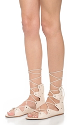 Iro Xira Lace Up Flat Sandals