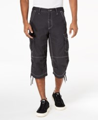 Inc International Concepts Men's Extra Long Messenger Shorts Created For Macy's Dark Lead