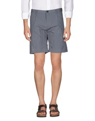 M.Grifoni Denim Trousers Bermuda Shorts Grey