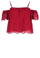 Abercrombie And Fitch Blouse Red