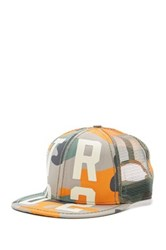 True Religion Tr 02 Camo Baseball Cap Orange
