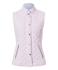 Olsen Quilted Gilet Pink