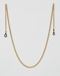 Asos Sunglasses Chain In Gold