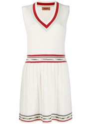 Missoni Knitted Dress White