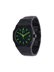 D1 Milano A Ne02 Neon Watch Polycarbonite Black