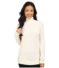 Pendleton Turtleneck Ivory Women's Long Sleeve Pullover White