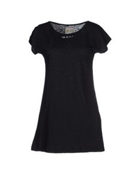 Mary Cotton Couture T Shirts Black