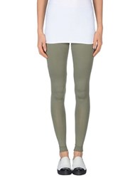 Carla G. Trousers Leggings Women Military Green
