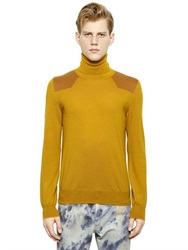 Maison Martin Margiela Maison Margiela Wool And Cotton Turtleneck Sweater
