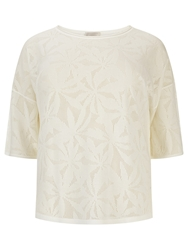 Windsmoor Pointelle Jumper Ivory