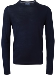 Woolrich Crew Neck Sweater Blue