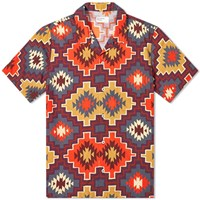 Universal Works Road Shirt Red