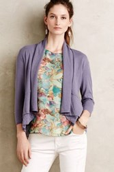 Anthropologie Mesi Cardigan Lavender