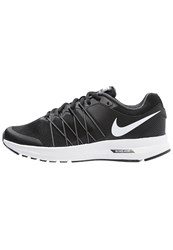 Nike Performance Air Relentless 6 Cushioned Running Shoes Black White