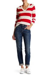Canvas By Lands' End Slouchy Slim Jean Blue