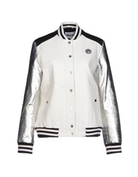 American Retro Jackets White