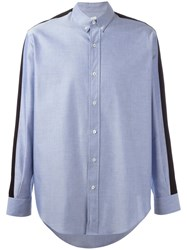 Ami Alexandre Mattiussi Button Down Shirt Blue