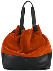 Givenchy Slouchy Shoulder Bag Women Calf Leather Suede One Size Yellow Orange