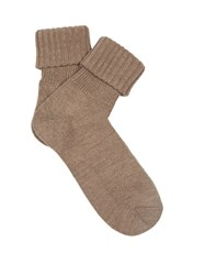 Falke Striggings Wool Blend Socks Brown
