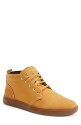 Timberland Men's Earthkeepers 'Groveton' Chukka Sneaker Wheat Nubuck Canvas