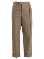Craig Green High Rise Wide Leg Tailored Trousers Grey