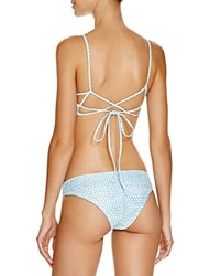 L Space L Space Sandal Skin Sandy Bikini Bottom Ocean Denim