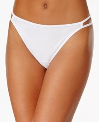 Vanity Fair Illumination Heathered Cotton Bikini 18315 Star White