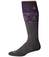 Smartwool Phd Slopestyle Medium Wenke Medium Grey Men's Knee High Socks Shoes Gray