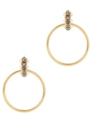 Ca And Lou Taia 24Kt Gold Plated Earrings