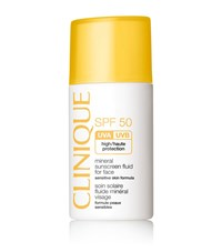 Clinique Mineral Sunscreen Fluid For Face Spf 50 Female
