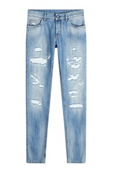 Dolce And Gabbana Distressed Jeans