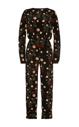Johanna Ortiz Johnny Cash Open Back Jumpsuit Print