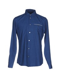 Marc By Marc Jacobs Shirts Blue
