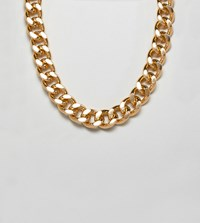 Glamorous Gold Chain Necklace