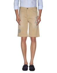 Fred Mello Trousers Bermuda Shorts Men Sand