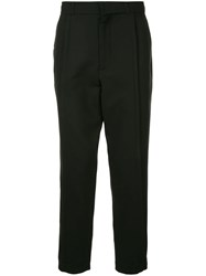 Ann Demeulemeester Tailored Tapered Trousers Black