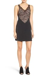 Kendall And Kylie Laced Slipdress Black
