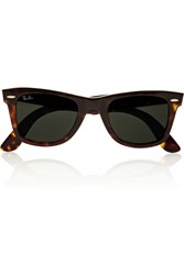 Ray Ban The Wayfarer Acetate Sunglasses Tortoiseshell