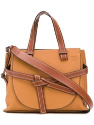 Loewe Gate Tote Bag Brown