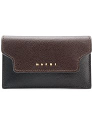Marni Trunk Wallet Brown