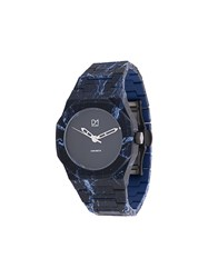 D1 Milano A Co03 Concrete Watch Polycarbonite Black
