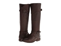 Frye Phillip Riding Dark Brown Soft Vintage Leather Cowboy Boots