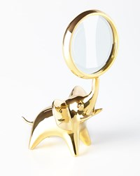 Brass Elephant Magnifying Glass Jonathan Adler
