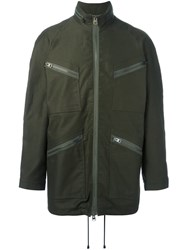 J.W.Anderson Multi Zip Jacket Green