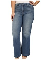Nydj Plus Size Addison Wide Leg Trouser Jeans In Istanbul Istanbul Women's Jeans Blue