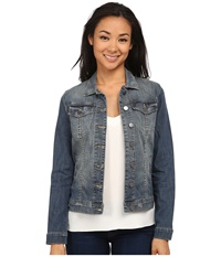 Kut From The Kloth Button Front Jacket In Cooperation Cooperation Women's Jacket Blue